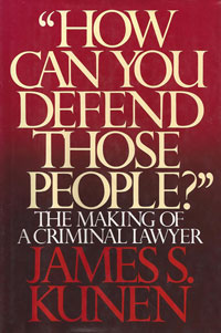 Cover of How Can You Defend Those People